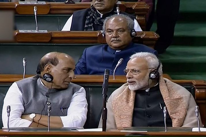 Sabka Sath Sabka Vikas by reservation bill, Modi promoted the bill from Twitter to events.