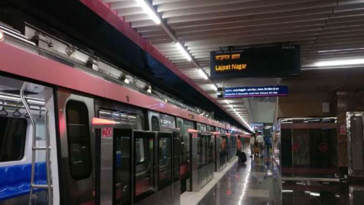 A new metro line inaugurated by Delhi ministers, will connect Lajpat Nagar to Mayur Vihar