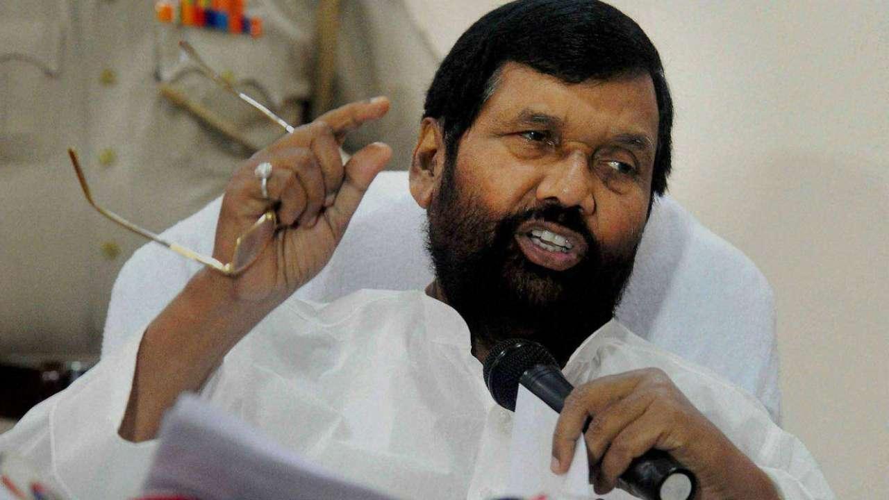 Modi's Mandir should be Parliament, said Ram Vilas Paswan