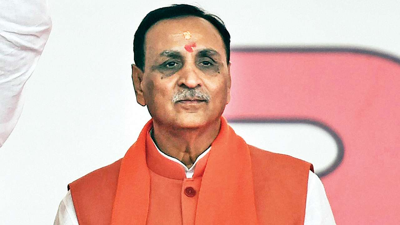 Congress is celebrating as if a son is born in a family, said Gujarat Chief Minister