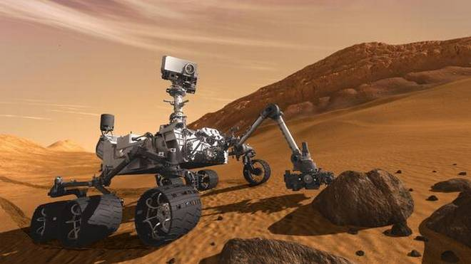 NASA Says, Curiosity Rover Found Foreign Objects on Mars a Rock Flake