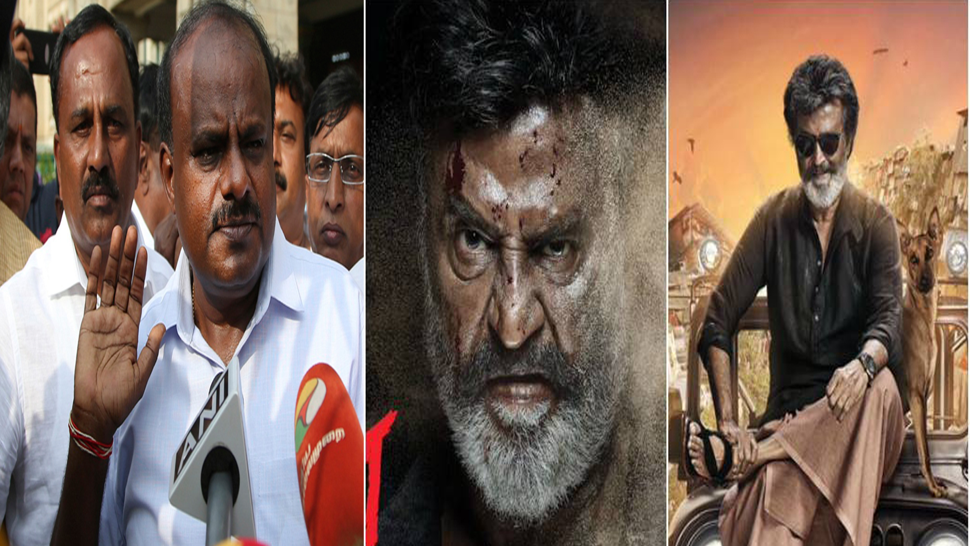 By letting the fringe Kannada group hold Rajnikanth's kaala to ransom, Kumaraswamy has failed the first tier of being a CM