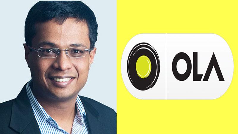 Flipkart Co-founder Sachin Bansal invested 150 crores in Ola