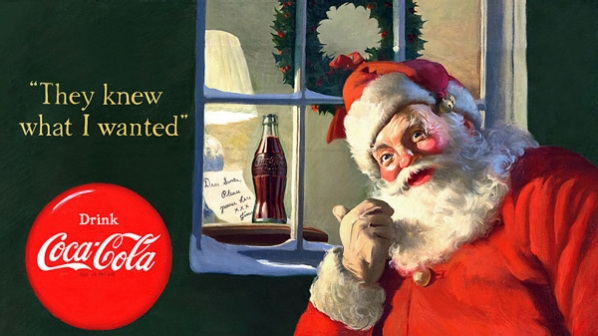 Santa wouldn't have looked like this without Coca-Cola. Know how