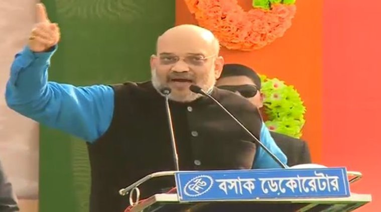 Amit Shah rally in Malda: Kickstarting the campaign with citizenship bill