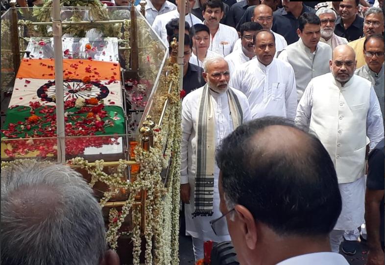 "Atal Bihari Vajpayee's: An Incredible Story ""Rajiv Gandhi Is Why I Am Alive"""