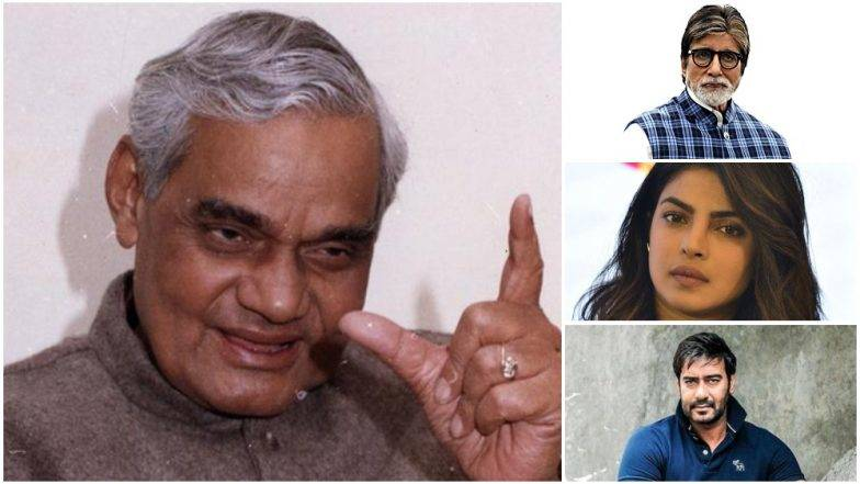 Bollywood shared a teary goodbye to the former Prime Minister Atal Bihari Vajpayee