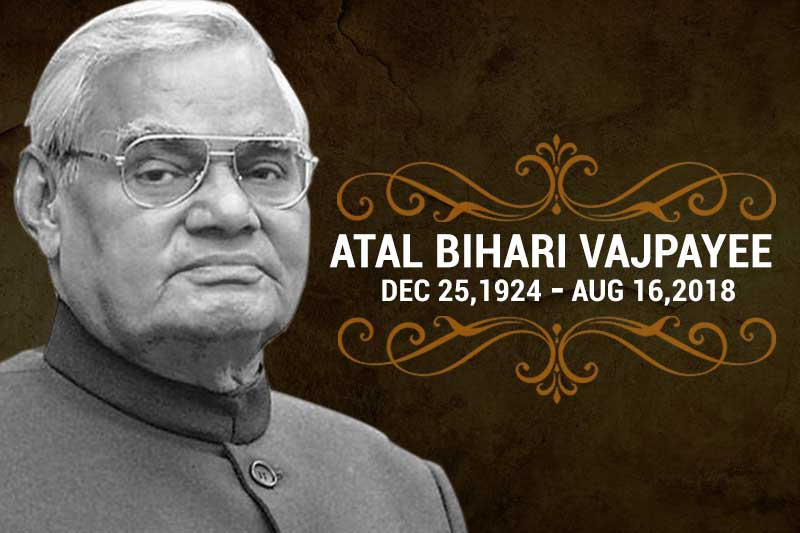 Atal Bihari Vajpayee – The honour of India– lost but can never be forgotten
