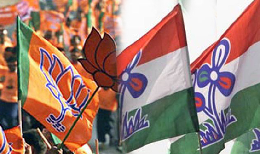 Election 2019: TMC said on Bengal violence- students showed black flags only, Amit Shah had called from outside Bengal.