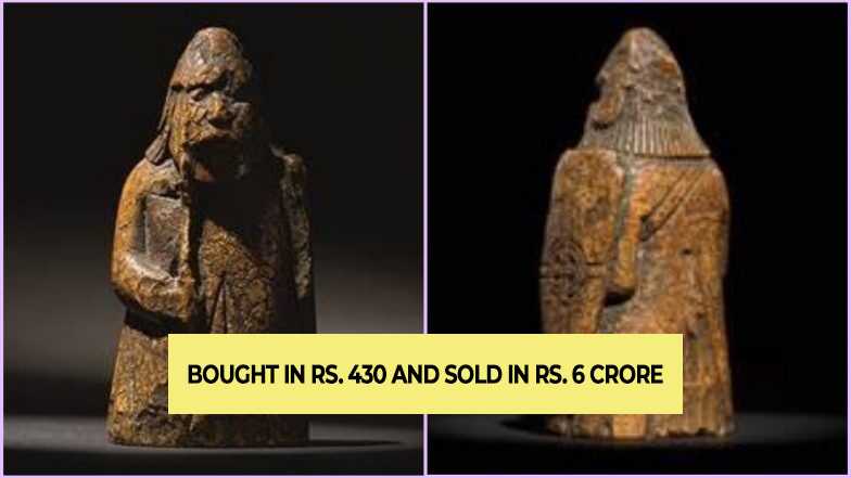 Bought in Rs. 430 and sold in Rs. 6crore, old chess piece become lucky for owner in London auction