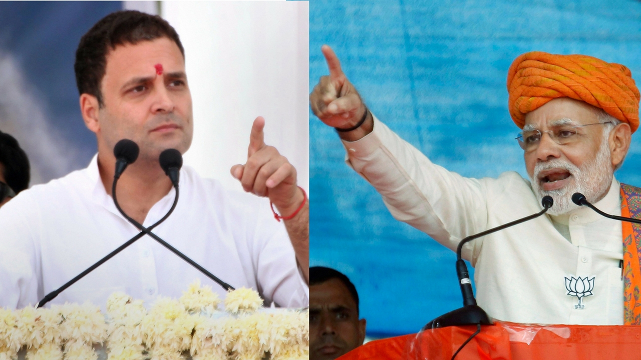 Goregaon rally: Rahul Gandhi slams PM Modi saying he does not respect his guru