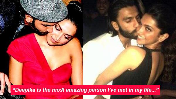 Ranveer writes a charming love letter for Deepika and we can't keep calm