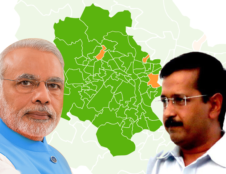 Political parties are now fighting for delhi vidhan sabha election.