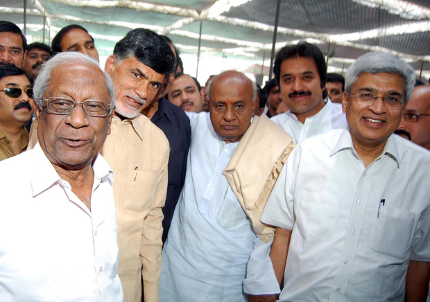 "Chandrababu Naidu is all set to form A ""United Opposition"""