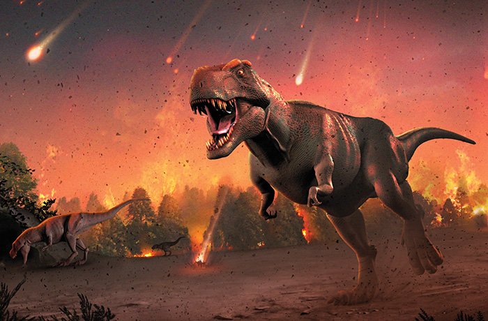 New discoveries are made, the Catastrophe of dinosaurs dying shown to the world