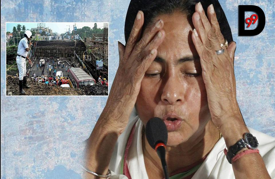 No answer to the million-dollar question even after a day after Kolkata bridge collapse