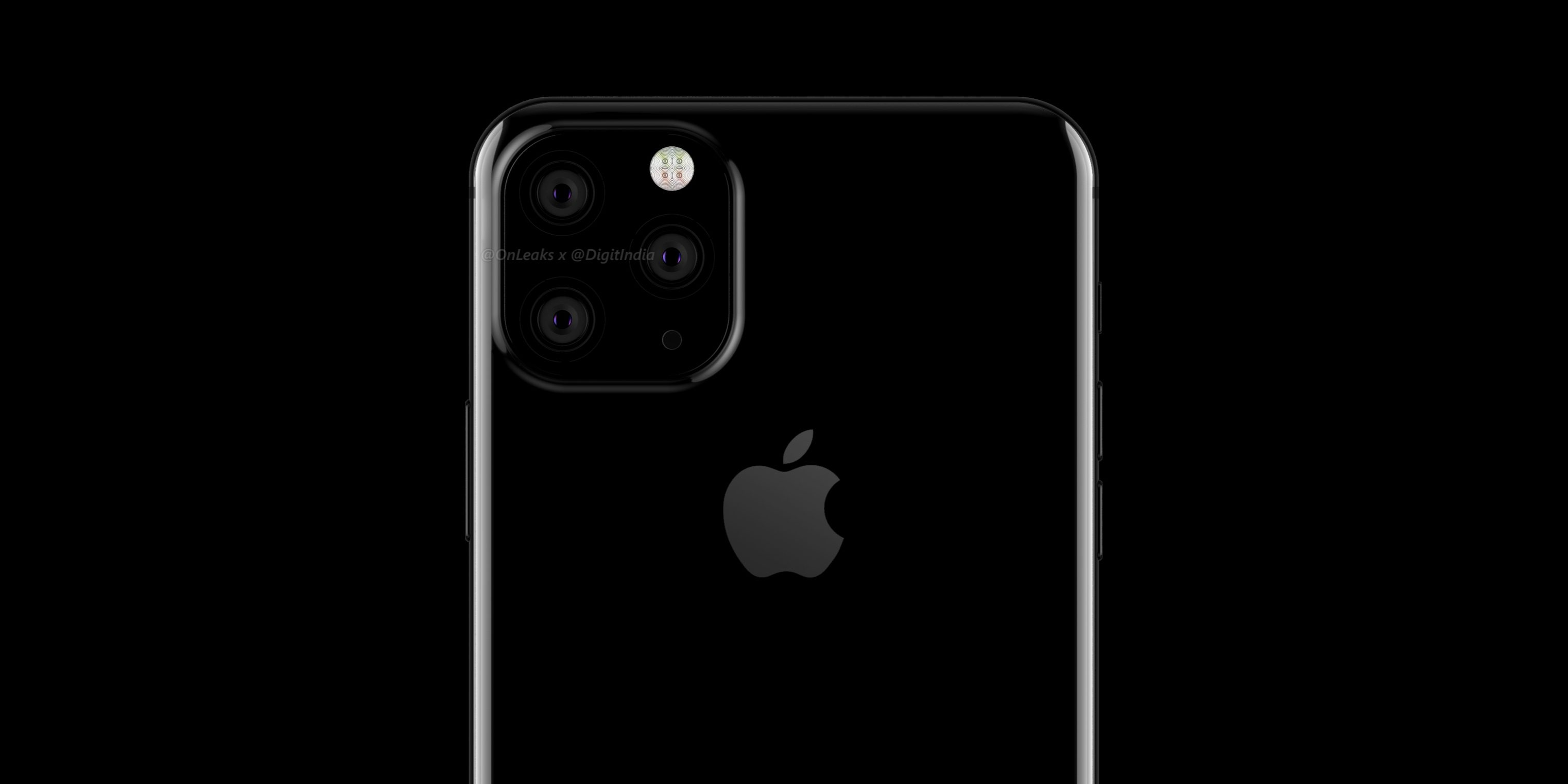 Three cameras in next iPhone, photos leaked on Twitter