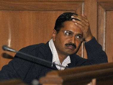 Person arrested after being caught with live bullets in Kejriwal's meeting.
