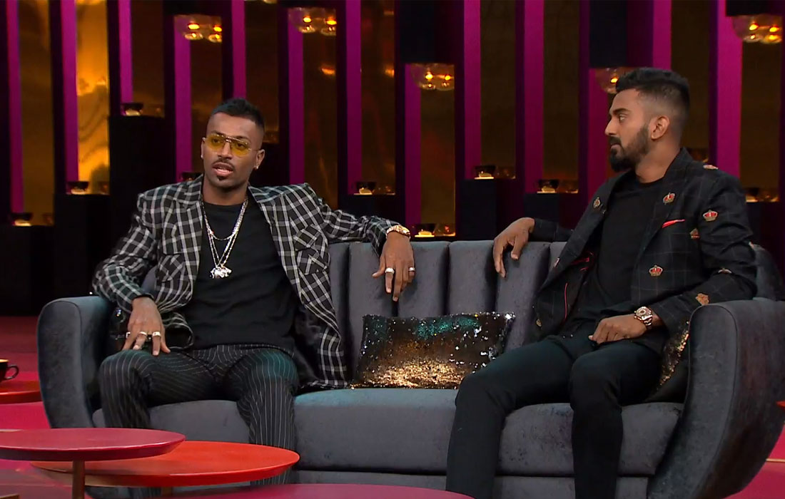 Hotstar removed the show featuring Hardik Pandya and KL Rahul