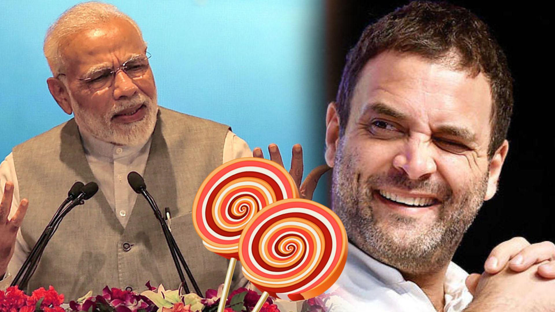 Congress is a Lollipop Company : Narendra Modi
