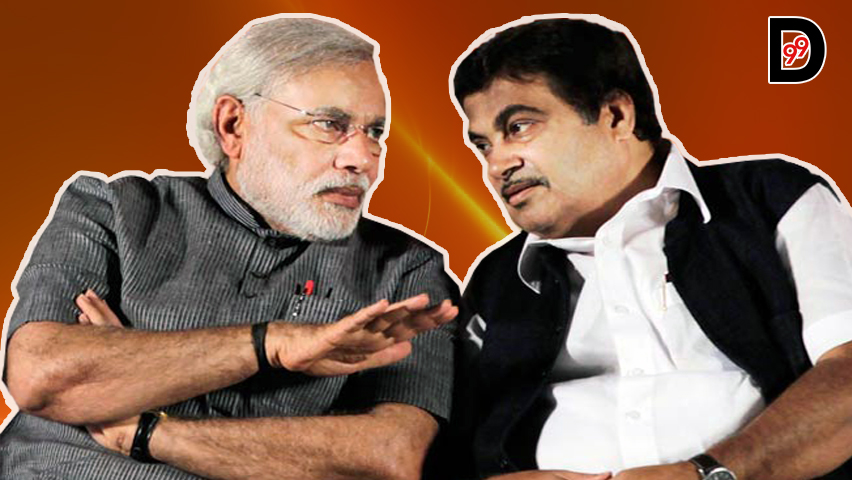 Replace Narendra Modi with Nitin Gadkari, said a Maharashtra Govt. Org. leader