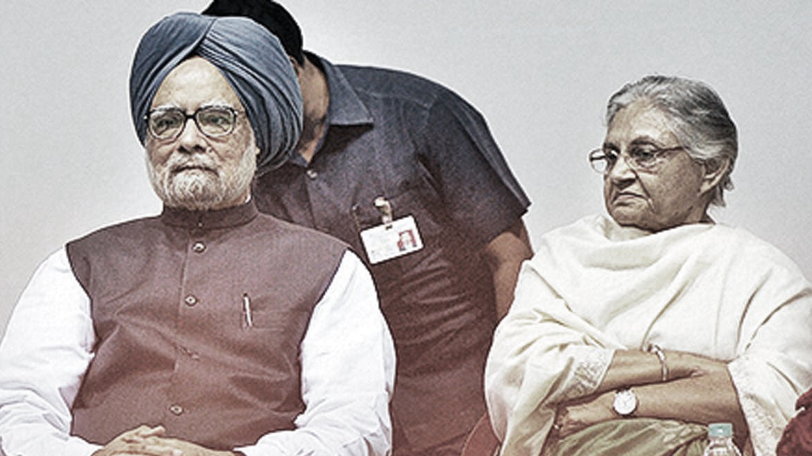 """Manmohan Singh was not as strong and determined as Modi.,"" said Sheila Dixit"