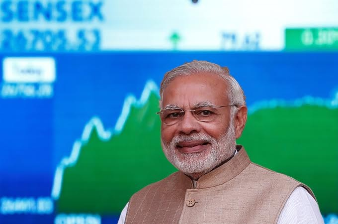 Sensex crosses 40 thousand in hopes of Modi government's return