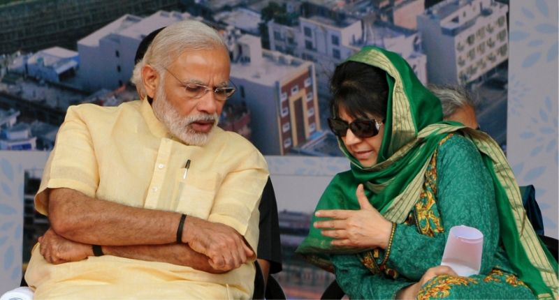 Jammu and Kashmir split up PDP has to be a huge worry for BJP as their allies NDA look for options for the 2019 polls