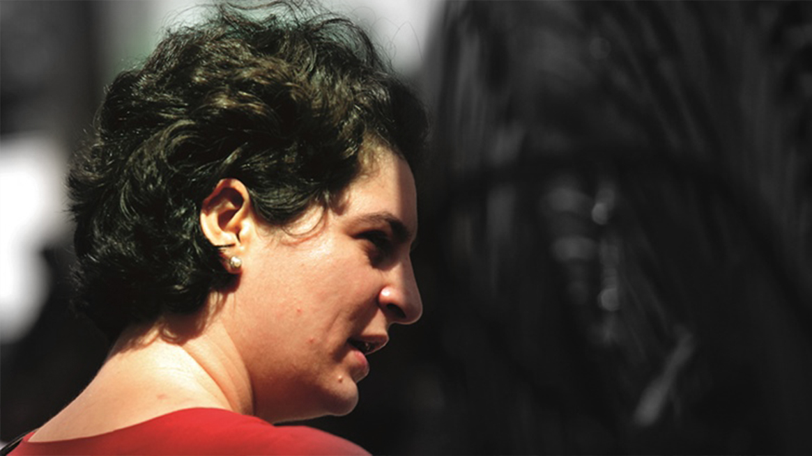 Almost no one noticed this special thing in Priyanka Gandhi's first speech?