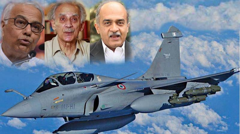 "Reliance responded to Arun Shourie statement, ""Rafale Scandal bigger than Bofors"""