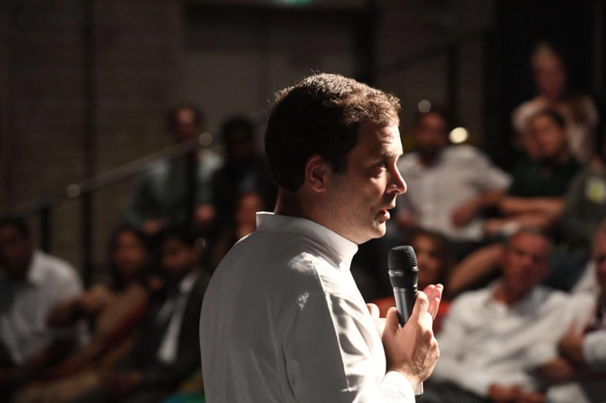 Rahul Gandhi in Germany blamed Unemployment for lynching