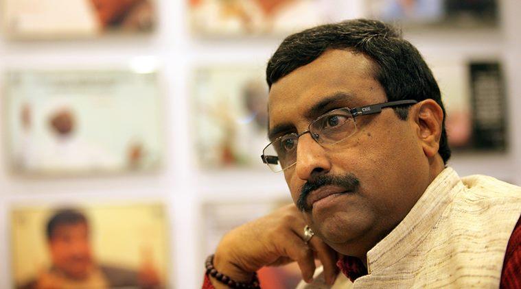 """I take my words back"", said BJP leader Ram Madhav"