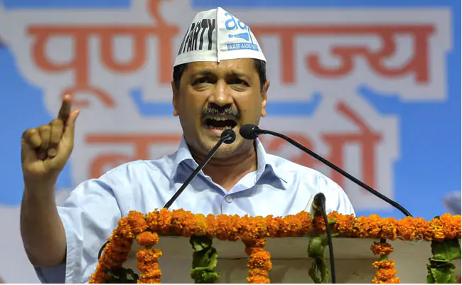 "Arvind Kejriwal said, ""Change PMs Name"" on the talk of renaming Ramlila Maidan"