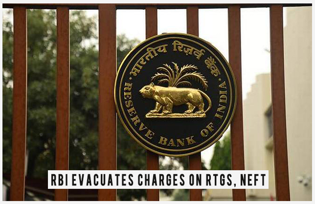 RBI evacuates charges on RTGS, NEFT exchanges: Central bank's choice will give a truly necessary lift to advanced exchanges