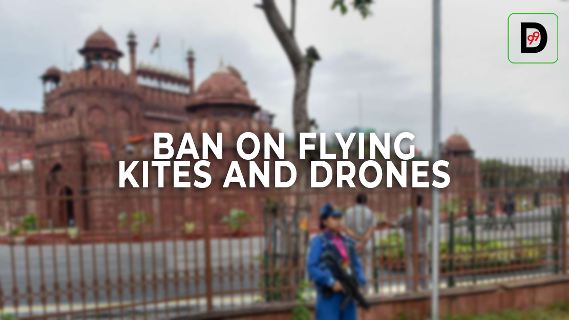 Rumours Against Terror Attack On Red Fort, Ban On Flying Kites And Drones