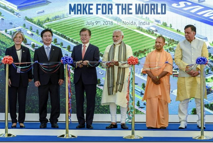 Samsung Noida Factory: PM Modi Open's World's Largest Cellular Factory