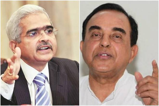 The new RBI governor is a corrupt person, said Subramnayam Swamy.