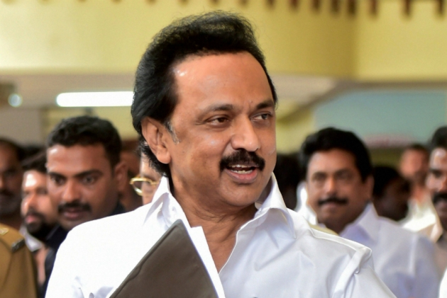 "Another masterstroke by Naidu, adds DMK in ""Grand Alliance"""