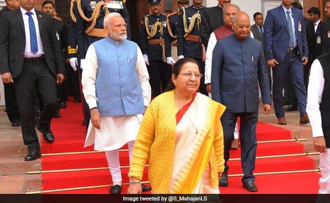 PM Modi on Sumitra Mahajan-In BJP, Only ''Tai'' Can Admonish Me