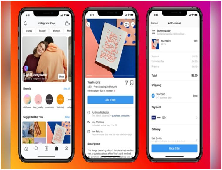Instagram Launches New Shop Section in the US, Powered by Facebook Pay