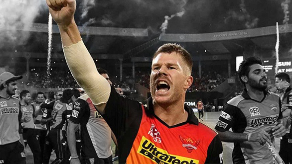 David Warner stated that he is inspired by Sunrisers Hyderabad fan