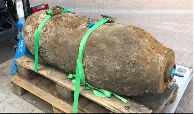 After the discovery of World War II Bomb in Germany, more than 18,500 evacuated