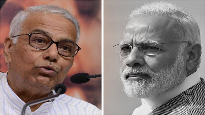 Is Yashwant Sinha planning to become next Prime Minister?