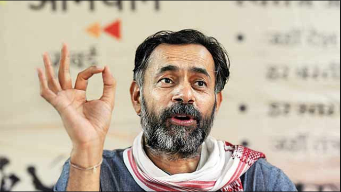 Yogendra Yadav hits out at cops, detained in Tamil Nadu